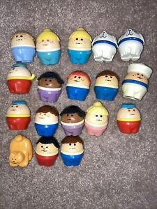 Lot of 22 Vintage Chunky Little People 1980