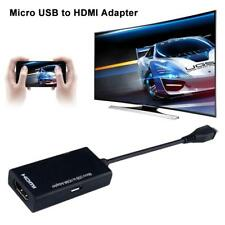 Micro USB To HDMI 1080P HD TV Cable Adapter for Android Smart Phone Samsung UK