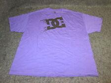 Hombre DC Zapatos skate bmx mx camiseta S a XL XXL moradoNegro {DC212}