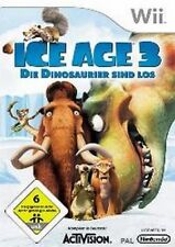 Nintendo Wii +Wii U ICE AGE 3 DIE DINOSAURIER SIND LOS GuterZust.