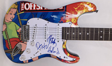 THE OFFSPRING DEXTER HOLLAND NOODLES SIGNED FULL SIZE CUSTOM ELECTRIC GUITAR BAS