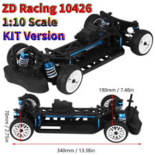 ZD Racing 10426 1:10 Scale 4WD RC Drift Car Metal Frame Kit RC Part Accessory