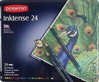 Derwent Inktense Watercolour Pencils Tin Set24