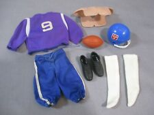 Big Jim FOOTBALL OUTFIT 1973 Vintage Mattel