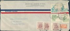 Colombia old cover to Belgium 1946