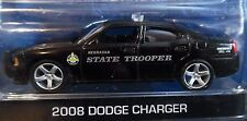GREENLIGHT 08 2008 DODGE CHARGER HOT PURSUIT NEBRASKA STATE TROOPER POLICE CAR