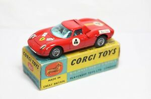 Corgi 314 Ferrari Berlinetta 250 Le Mans In Its Original Box - Excellent