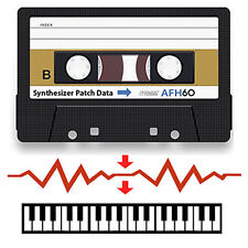 Korg DW-8000 Data Cassette Tape - Contains Patches/Sounds