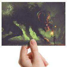 "Fotografía 6x4"" - espeluznante Espeluznante Demonio Gamer Art 15x10cm #14036"