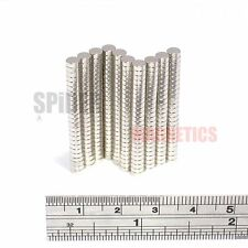 Magnets 4x1.5 mm Neodymium Disc strong small round craft magnet 4mm dia x 1.5mm