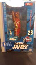 "NIB McFarlane LeBRON JAMES CAVS #23 ROOKIE 2004 Red Uniform 2nd NBA 12"" Figure"