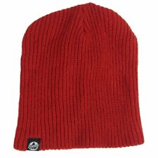 NWT Burton Fang All Day Long Red Knitted Beanie Cap Hat One Size
