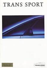 Prospekt Pontiac Trans Sport D 11/92 brochure Autoprospekt Auto PKWs US car 1992