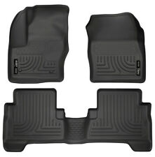 Husky Liners 99741 Front & 2nd Seat Floor Liners 2013-20 Ford C-Max 13-18 Escape