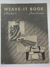 2 Weave-It Books No 3 And 7 And Wee Weave It Woolies