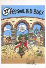 Ex-libris Offset Iznogoud Tabary, Festival BD Duc
