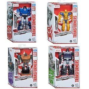 Transformers War for Cybertron Netflix Army Drone,Cheetor,Deep Cover,Sparkless B