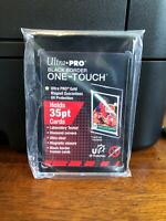 Ultra Pro One-Touch Black Border Regular Card 35 Point Card Holder - Lot of 20