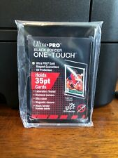 Ultra Pro One-Touch Black Border Regular Card 35 Point Card Holder - Lot of 10