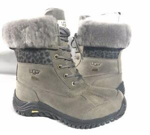 UGG Adirondack ll Exotic Winter Snow Charcoal gray waterproof boot