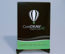 Corel CorelDRAW Graphics Suite X8 sealed GENUINE Win7/8/10 full version