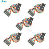 5pcs/lot 20cm 13P 13 Pins  Dupont Cable Jump Wire 2.54mm for Arduino