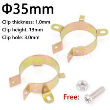 5PCS Capacitor Bracket Clamp Holder Clap 35mm Mounting Clip plating zinc Vintage