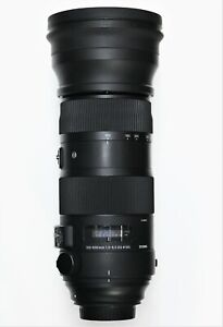 Sigma 150-600mm f/5-6.3 DG OS HSM Sports Telephoto Zoom Lens for Canon EF Boxed