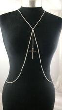 Collares y colgantes de bisutería cadena de color principal plata metal plateado