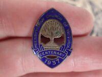 1937 Centenary Presbyterian Church of Victoria Australia enamel badge by Stokes