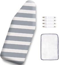 12.5 x 30 Inch Mini Ironing Board Cover,100% Cotton Iron Cover and Extra Thick