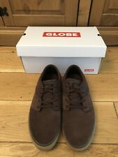 Globe Mens Skate Shoes Size 8 Brown Gum Worn Once Boxed VG Condition