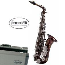 Julius Keilwerth SX90R Alto Saxophone Raw Brass Black Lacquer BrassBarn