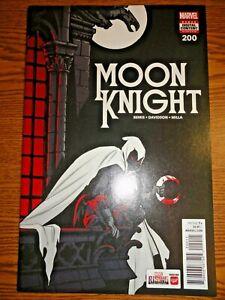 Moon Knight #200 Marc Spector Key NM- 1st Print A Cover TV Show Marvel Disney +