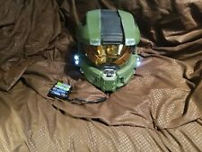 Halo Master Chief Wearable Helmet Full Size Spartan Cosplay with lights