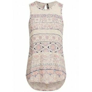 HAILYS Damen Shirt < Gilly > Top  Tunika ohne Arm Feinstrick
