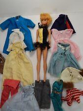 1958/1962 Barbie Midge Bubble Cut Blonde Masquerade Tutu. Additional Outfits.