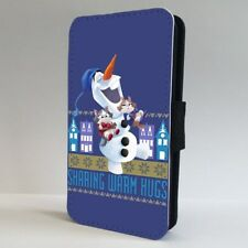 Frozen Olaf Disney Quote FLIP PHONE CASE COVER for IPHONE SAMSUNG