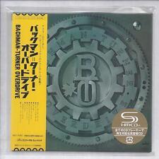 BACHMAN-TURNER OVERDRIVE BTO s/t JAPAN mini lp cd SHM papersleeve cd UICY-75688