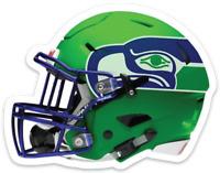 Seattle Seahawks Helmet w/ Seahawk Logo NFL MAGNET - Way Cool Awesome Magnet !!!