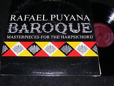 RAFAEL PUYANA Baroque MASTERPIECES For The Harpsichord MERCURY Stereo LP 1960s