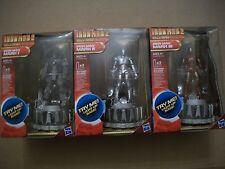 Iron Man 2 Hall of Armor MARK 1 , 2 & 3 Light Up Base by Hasbro New & Sealed