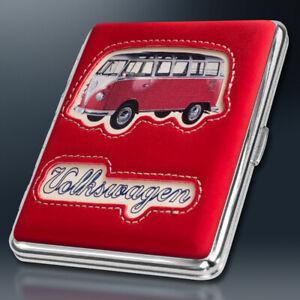 VW Bulli T1 Zigarettenetui | ROT Soft | Volkswagen Lizenzware | Samba Bus Etui
