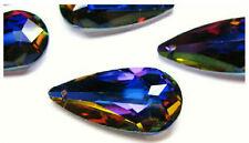 Modeschmuck-Halsketten & -Anhänger aus Kristall mit Tropfen
