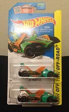 Hot Wheels 2015 1:64 JET THREAT 4.0 Treasure Hunt CFK48 #95 *Set of 2*