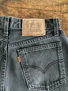VINTAGE LEVIS 615 JEANS ORANGE TAB W29 L33 STRAIGHT RELAXED LEG 90's
