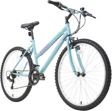 "Terrain MTB1026 Rigid 17"" Frame 26"" Wheel Ladies Mountain Bike Turquoise"