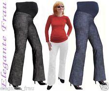 UMSTANDSHOSE DENIM- JEANS HOSE Umstandsjeans mit Bauchband *** leggings *** gr