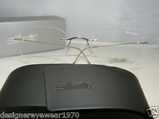New Authentic Silhouette Titanium Rimless Eyeglasses 7610 6051 Austria MMM