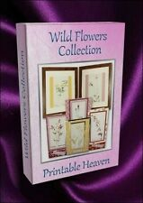 Card-making Wild Flower Collection - 270 images and backgrounds on DVD
